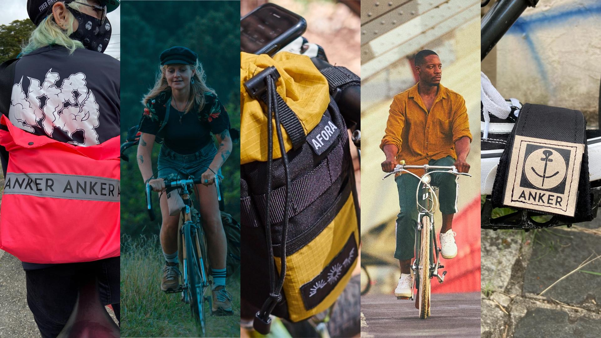 Anker Straps, Koenig, Afora, Vela Bikes e Silver Cat Cycles são marcas que acreditam em produtos artesanais para os mais variados perfis de ciclistas