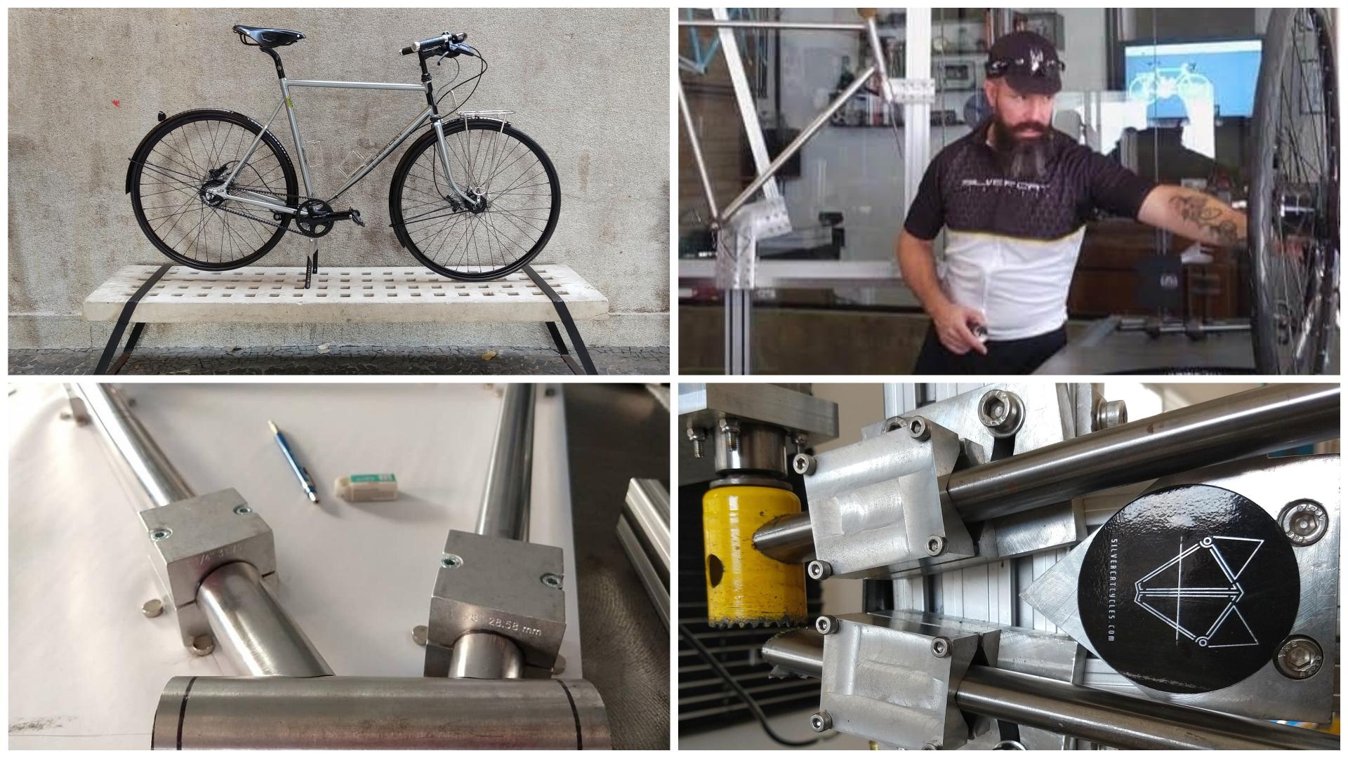 Completamente apaixonado pelos detalhes, o artesão Sergio Rodrigues desenvolve os projetos exclusivíssimos de suas bikes somente após uma longa conversa com o comprador