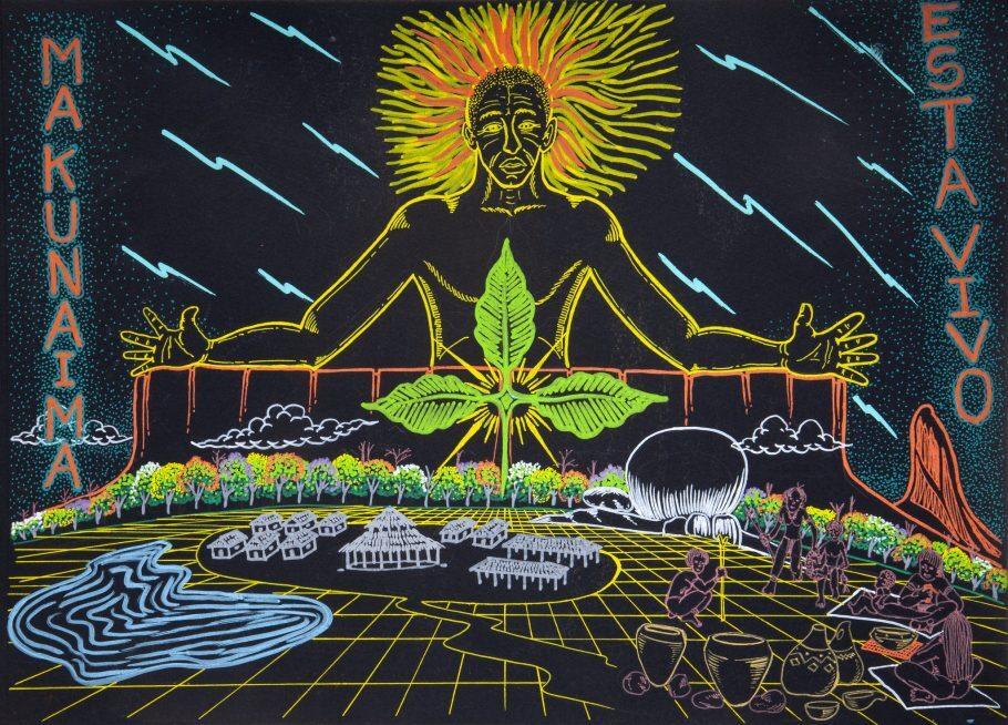 Elisclésio Makuxi, arte indígena contemporânea