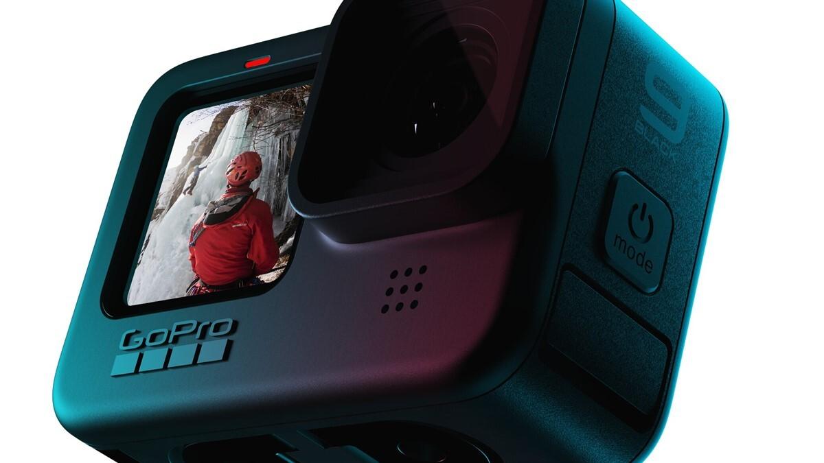 GoPro Hero 9 Black está no aquecimento da promoção com o valor de R$ 2.627,54 no combo standard