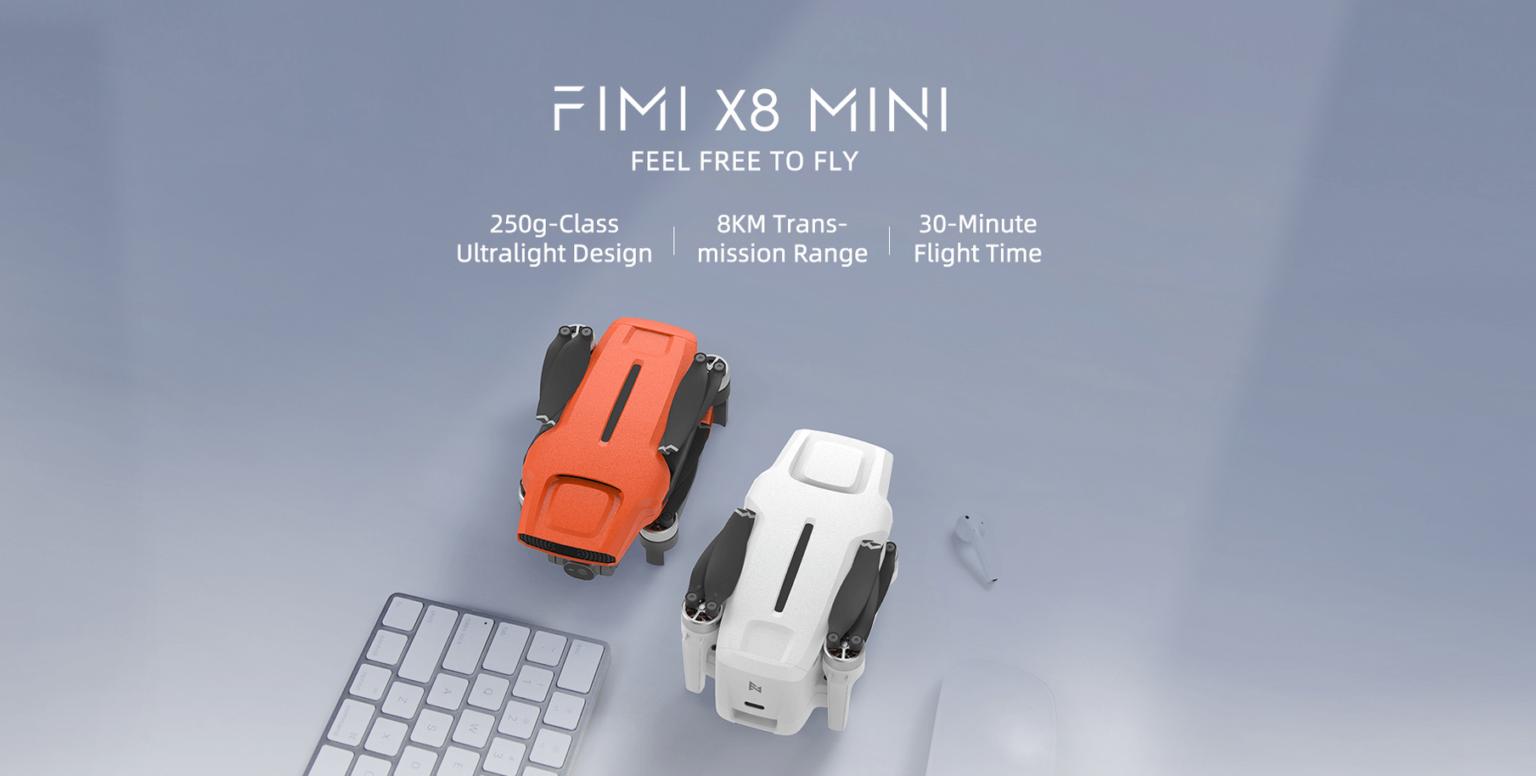 O FIMI X8 Mini está custando entre R$ 1.869,78 e R$ 2.084,31 no AliExpress, dependendo do combo escolhido
