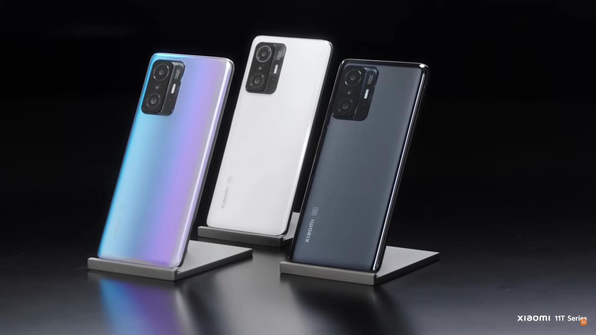 Xiaomi 11T está custando na promoção entre R$ 2.709,32 e R$ 3.324,55, dependendo do combo escolhido