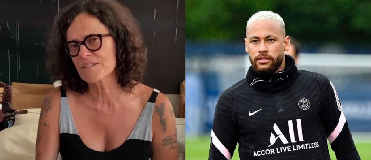 Zelia Duncan parte pra cima de Neymar: 'pague seus impostos'