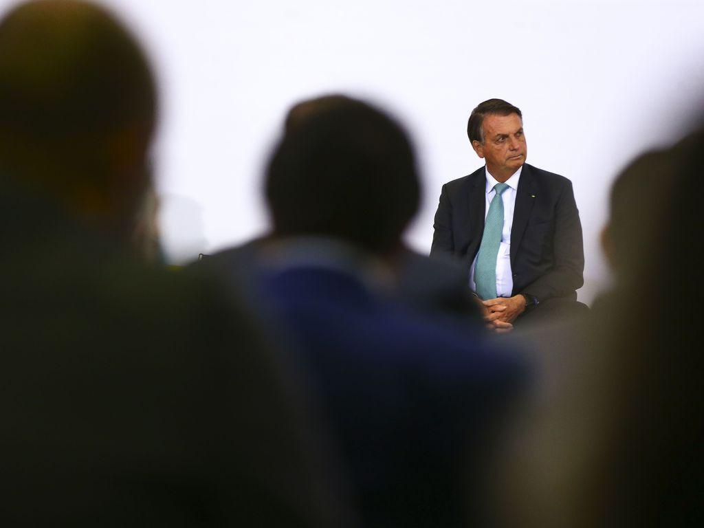 Bolsonaro disse que não tomará vacina contra a covid-19