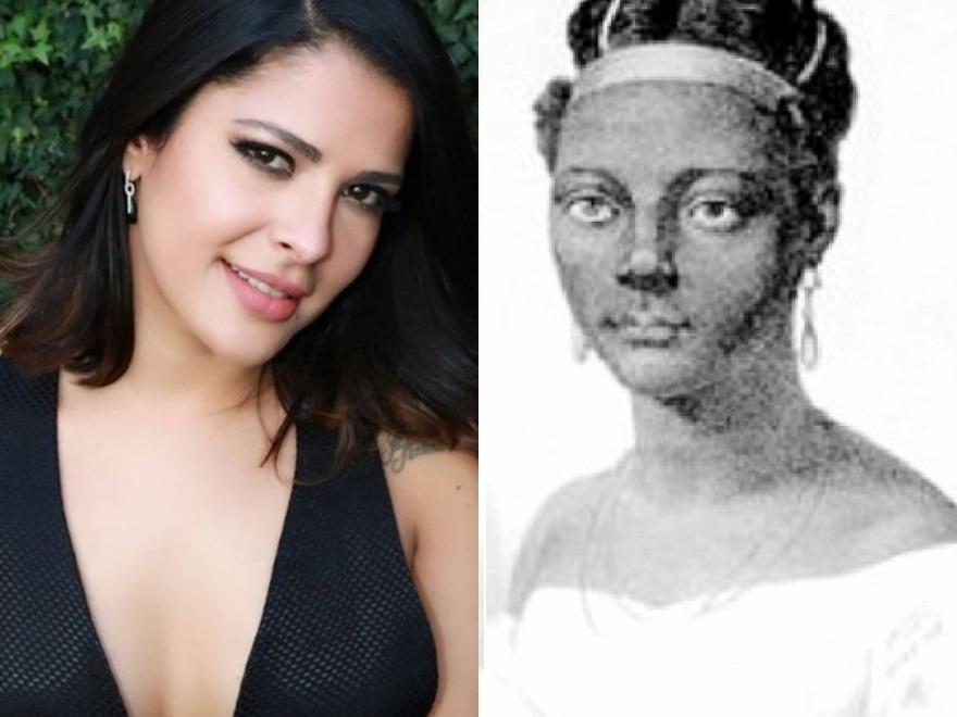 Ex-BBB Giselly Soares no papel da escrava Esperança Garcia gera críticas