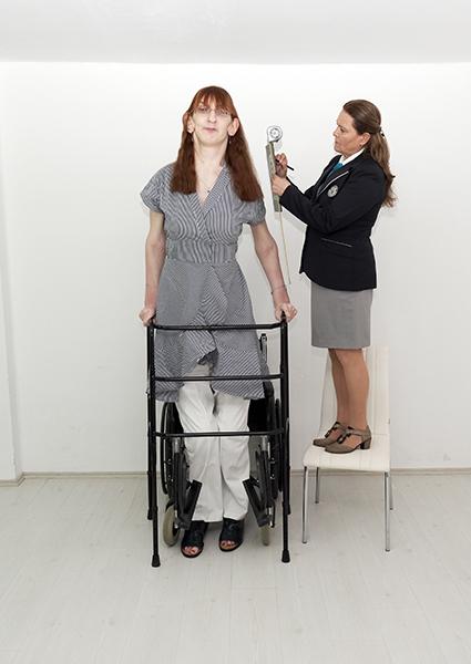 mulher mais alta