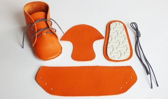 Make Your Own Baby Shoes Kit