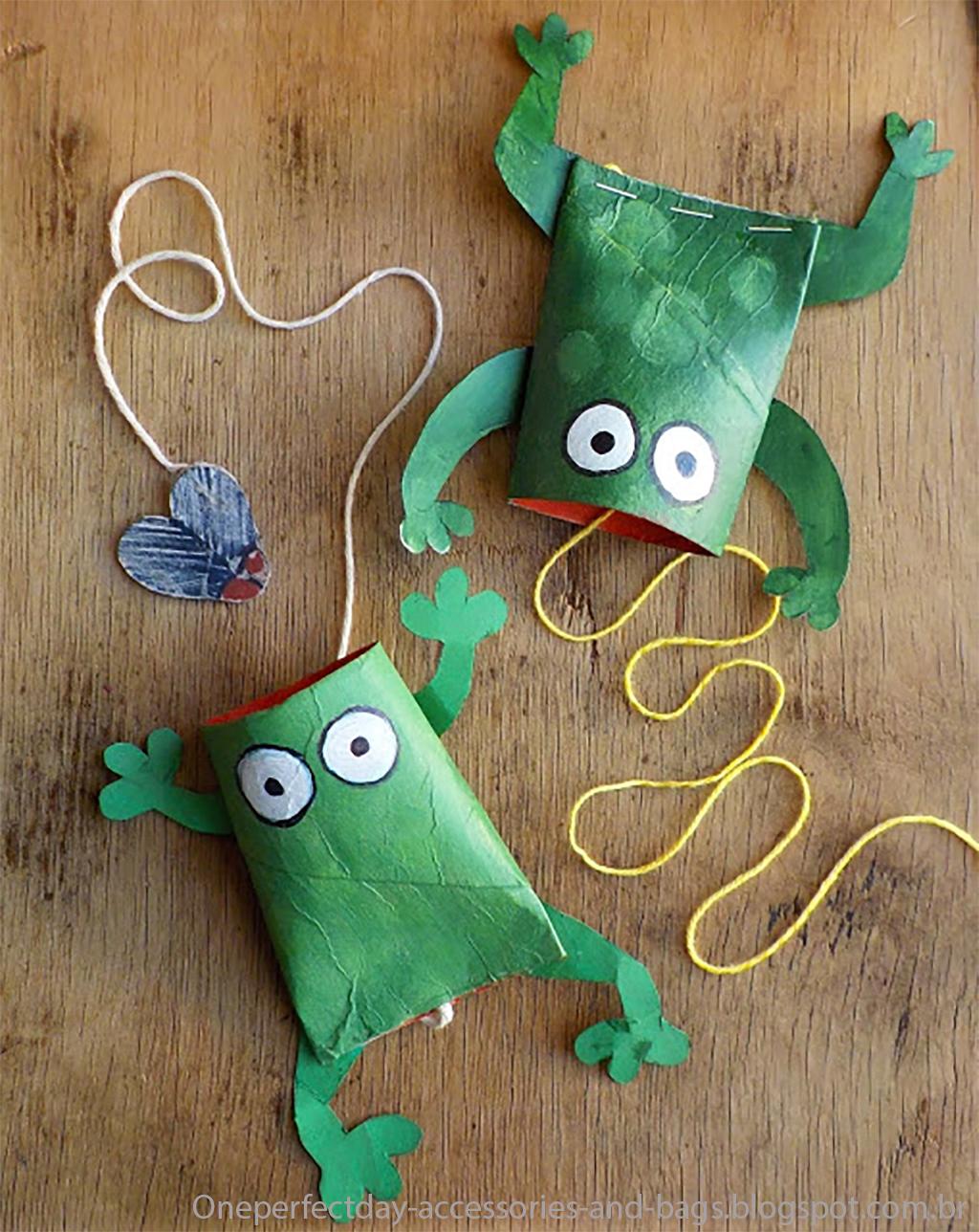 10 Ideias De Brinquedos Com Rolo De Papel Higi Nico