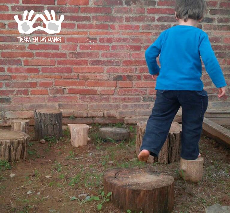 Circuitos de tronco são ideais para estimular as habilidades motoras , coordenação, e equilíbrio.