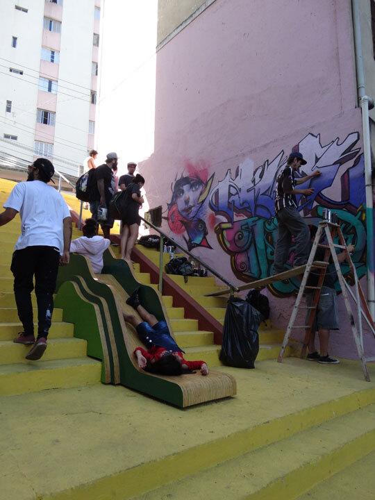Criacidade - Projeto criança fala - Criança fala na comunidade - Cidade que brinca (SP).