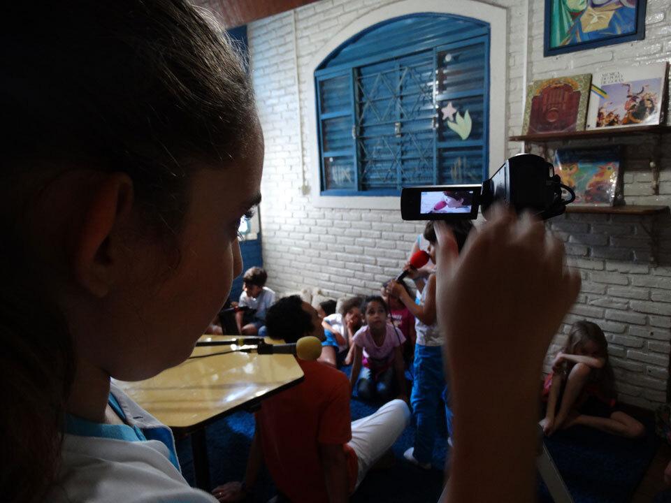 Espaço Cultural Vila Esperança - Comunicação Educativa Rádio da Vila do Espaço Cultural Vila Esperança (GO).