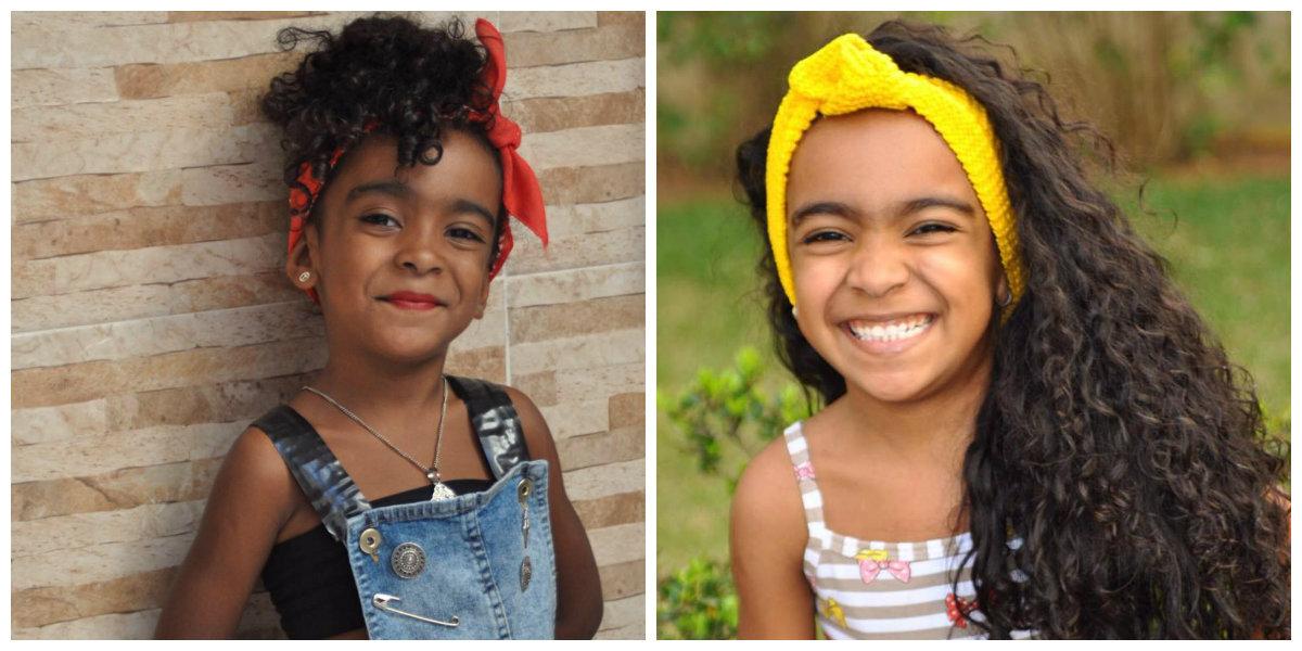 """""""Ela tem a pele mais linda que já vi!"""", diz a mãe sobre a filha, ao defender a autoestima como empoderamento e defesa às discriminações."""