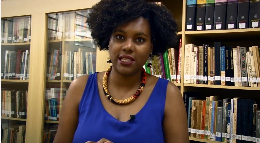 """""""Eu sou nascida e criada no Bairro de São Mateus, periferia da zona leste de São Paulo, estudei em escola pública e fui para um curso pré-vestibular para estudantes negros""""."""