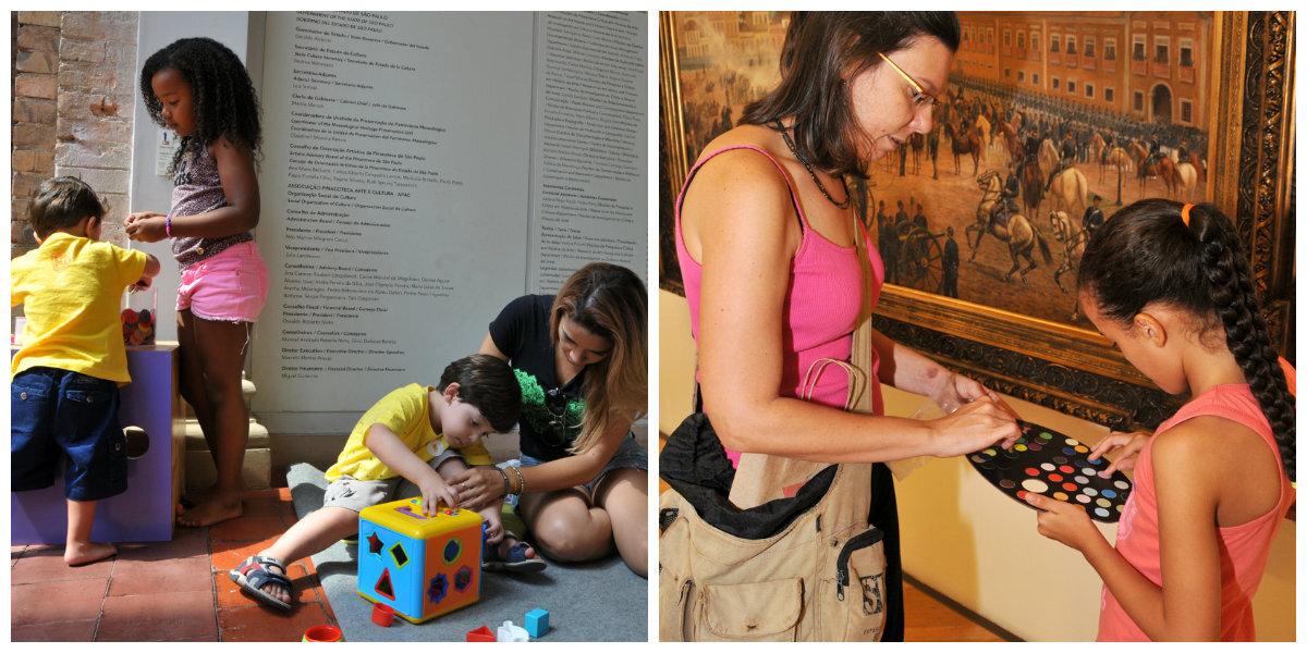O PinaFamília propõe um dia de atividades lúdicas para incluir toda a família e interagir com o museu de um jeito diferente.