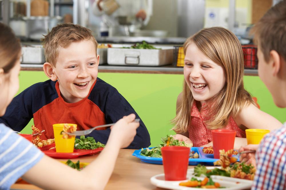 alimentação infantil férias