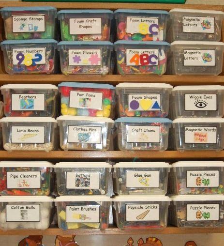 Um recurso simples para organizar os objetos de uso diário dos pequenos com autismo.