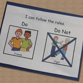 """""""O que pode fazer"""" X """"O que não pode fazer"""": um recurso simples e didático para estabelecer limites."""