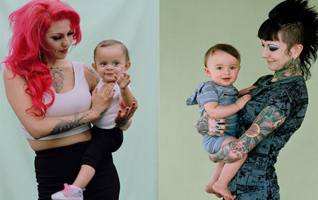 Série de fotos com mães 'atípicas' se torna poderosa contra preconceito.