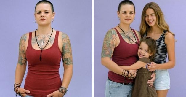 """""""Devotada"""" mostra mães que possam sofrer julgamentos por sua aparência """"diferente""""."""