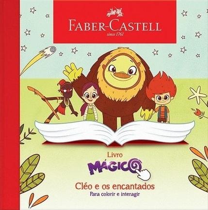 """Livro Mágico """"Cléo e os encantados""""."""