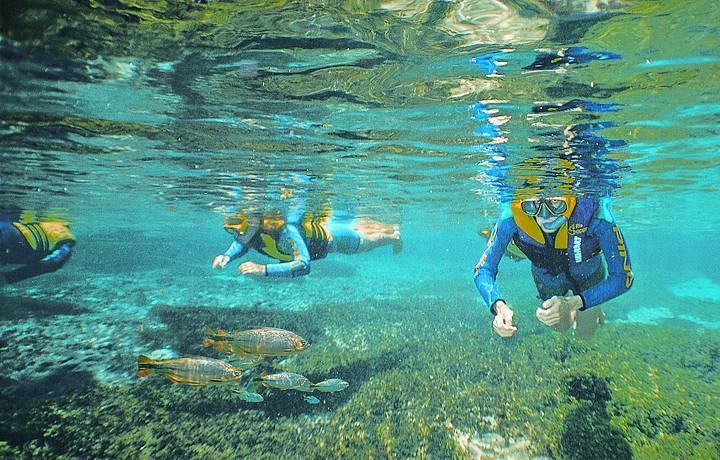 destinos-para-ir-de-moto-mergulho-em-bonito-Fundacao-de-turismo-Mato-Grosso-do-Sul