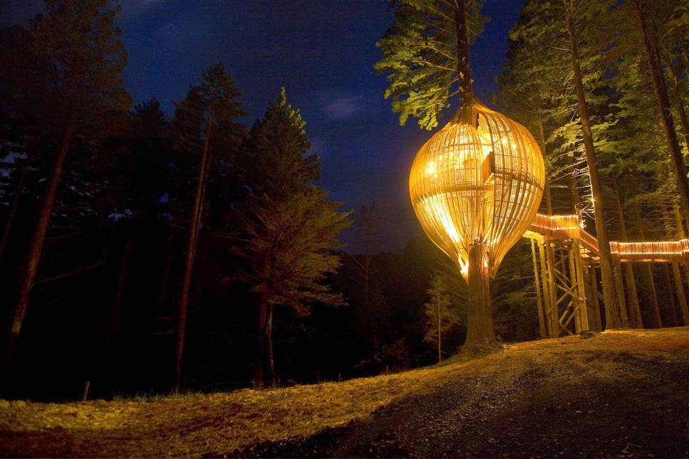 Divulgação/ Redwoods Treehouse