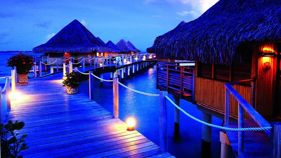bora bora um sonho de praias paradis acas. Black Bedroom Furniture Sets. Home Design Ideas