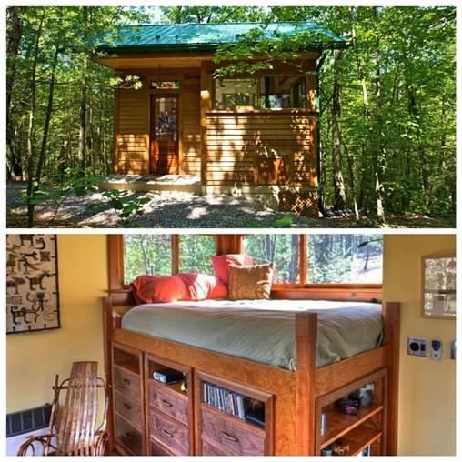 10 mini casas incr veis para alugar e entrar na moda das for Jackson wyoming alloggio cabine