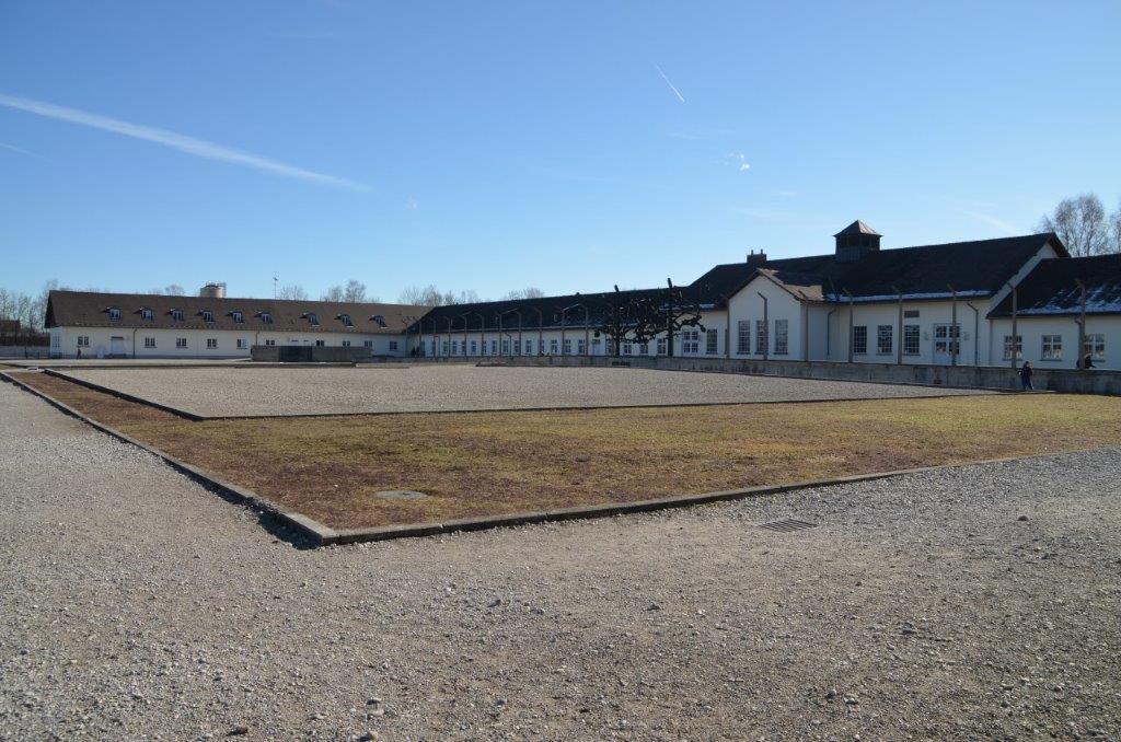 As instalações do campo de Dachau, próximo a Munique, no sul da Alemanha