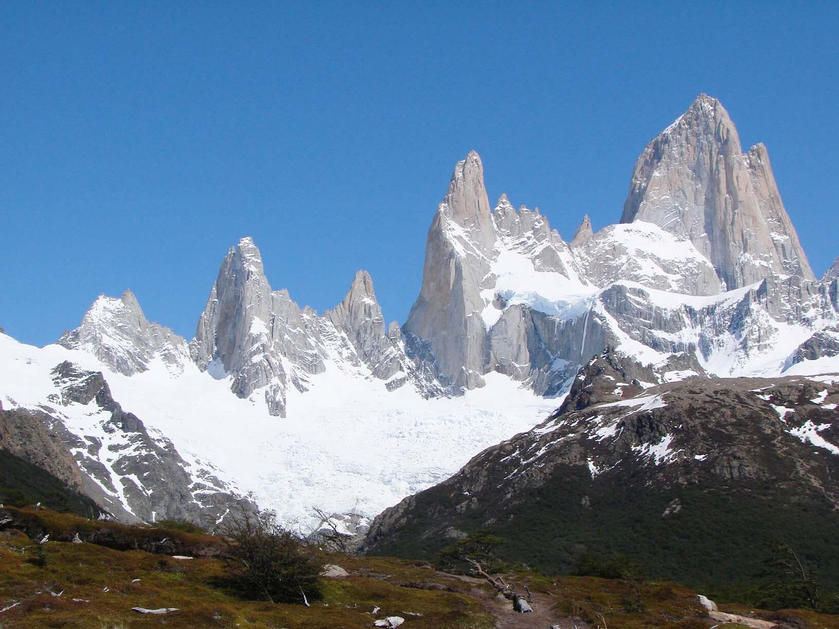 A recompensa da caminhada é a vista incrível que se tem da montanha