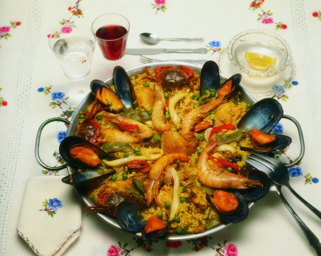 Gastronomy-Paella