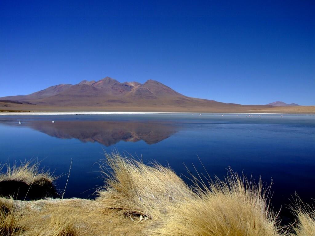 Vista da Laguna Cañapa