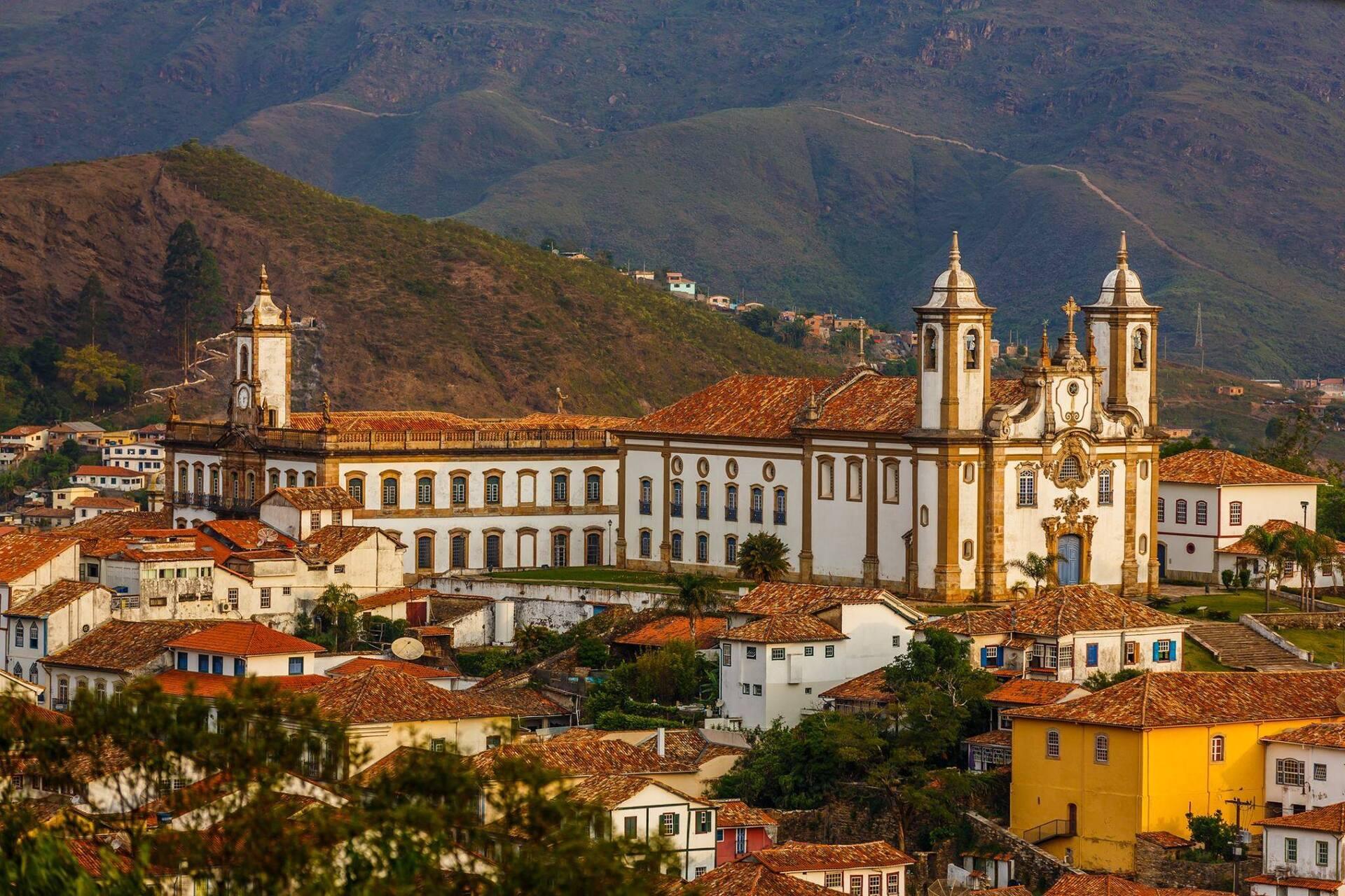 Ouro Preto, em Minas Gerais, um dos destinos recomendados para conhecer durante o outono