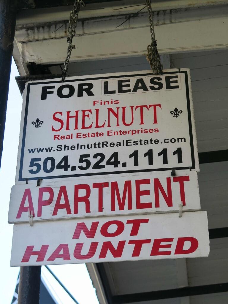 Louisiana - Aqui as imobiliárias avisam se a casa ou apartamento é mal assombrado