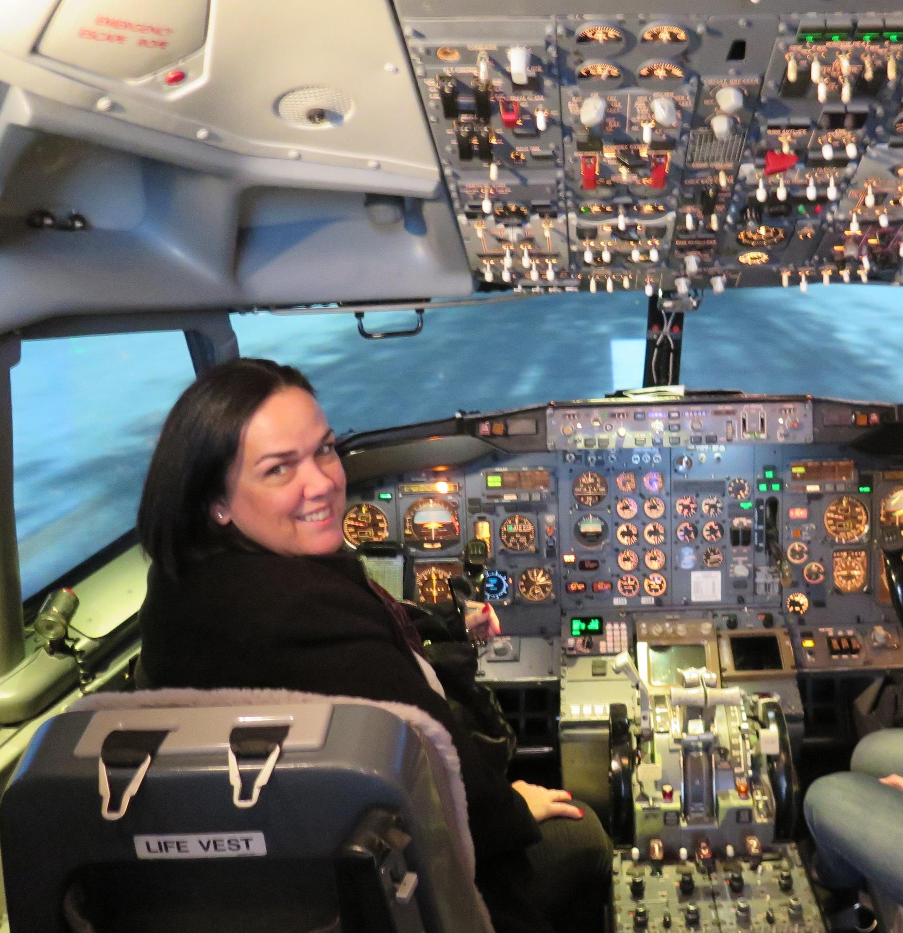 Atlanta - Ser piloto por um dia no simulador de voo do Museu da Delta