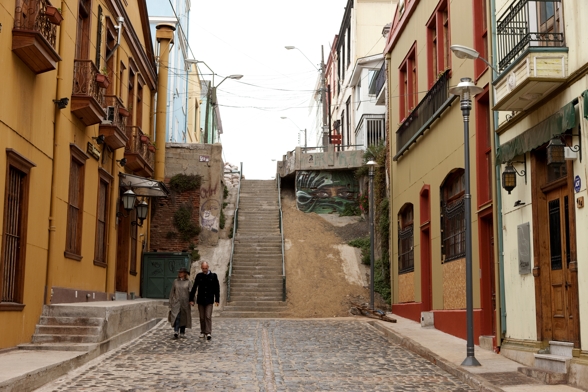 Valparaíso, declarada Patrimônio da Humanidade pela Unesco