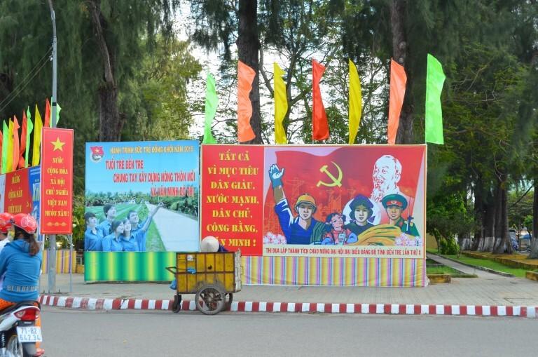 Ben Tre: no sul do Vietnam, na região do delta do rio Mekong, e orgulhosamente comunista