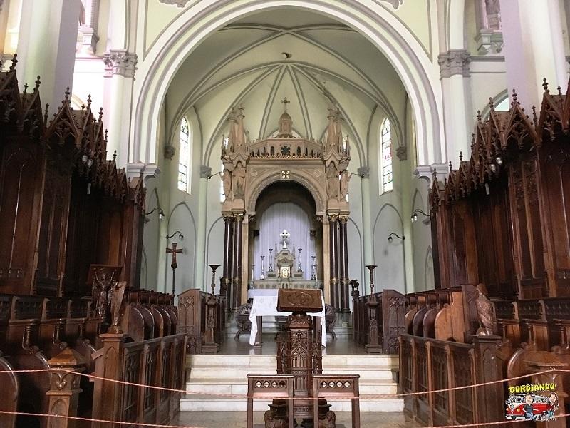 Interior da Igreja Matriz de Pirapora do Bom Jesus
