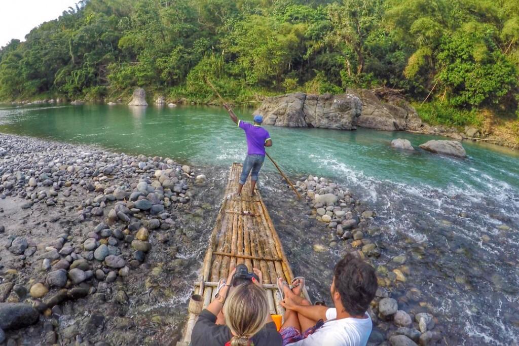 Bamboo Rafting no Rio Grande, em Port Antonio - Jamaica