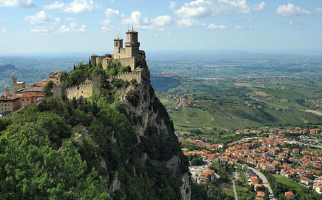 Guaita Tower em San Marino