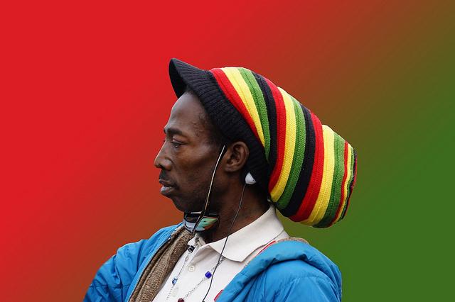 Rastafári way of life - retrato de um jamaicano