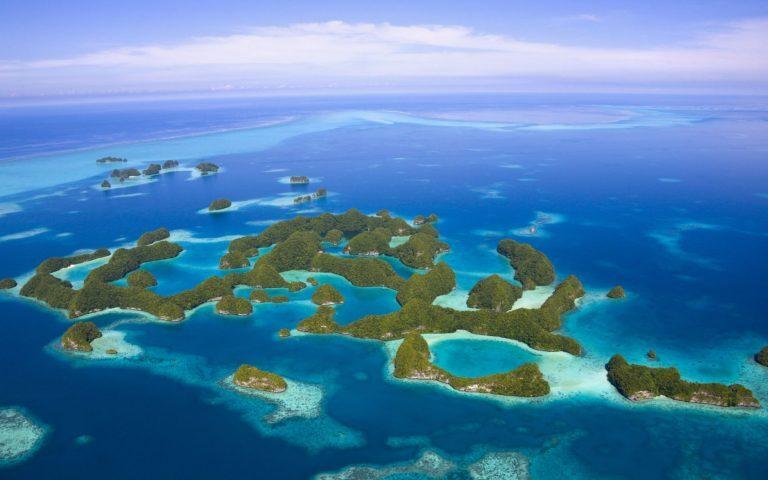 Rock Islands em Palau
