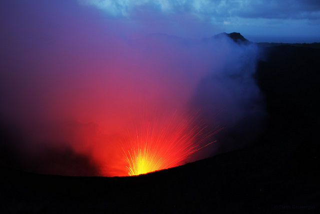 Vulcão Yasur em Vanuatu