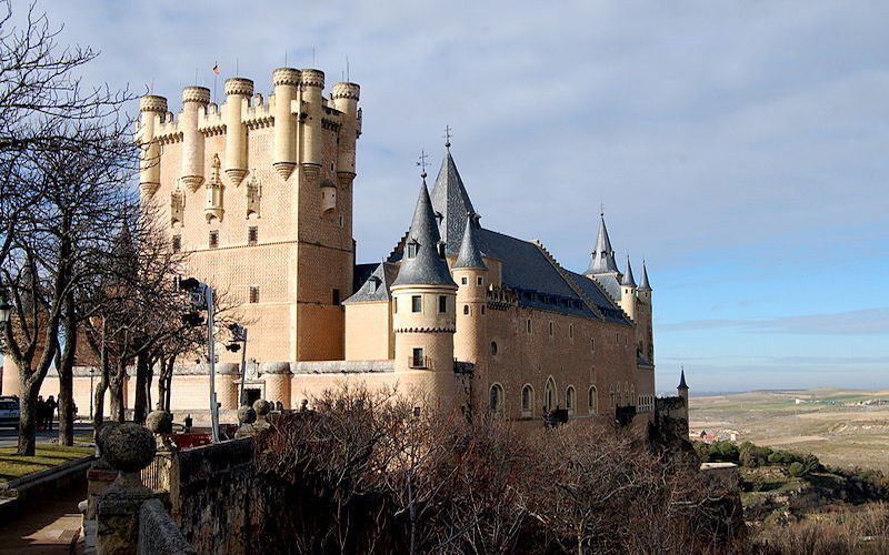 Castelo de Alcazar. (Fonte: Wikimedia Commons)