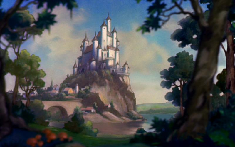 Castelo da Branca de Neve. (Fonte: Disney Wikia)