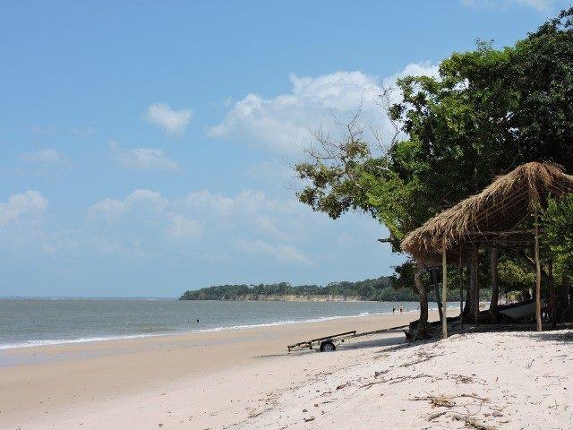 ilha de Cotijuba, no Pará