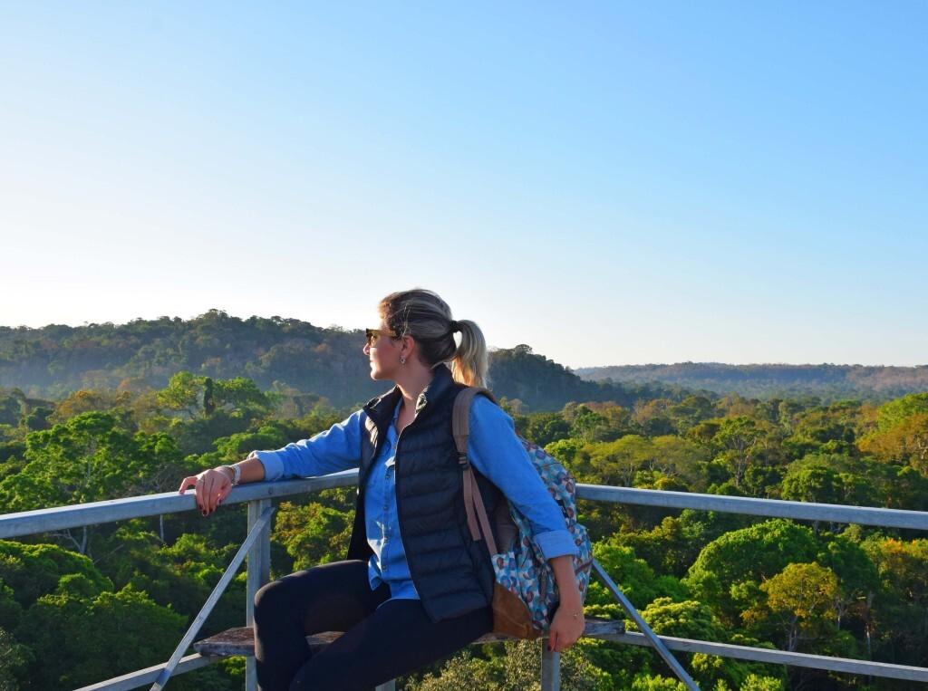 Torre de observação do Cristalino Lodge, Floresta Amazônica
