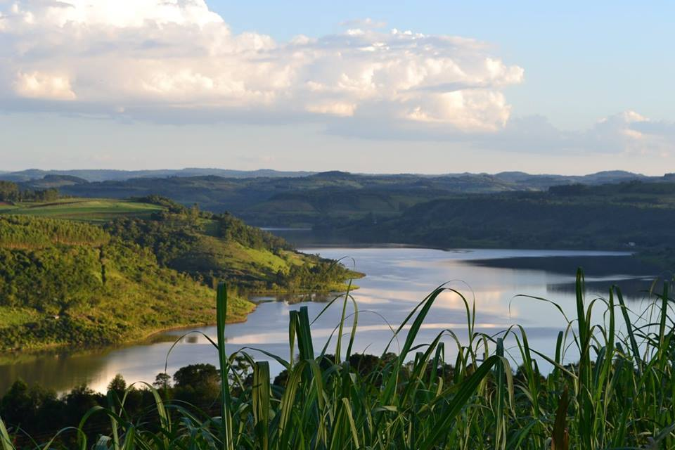 Vista do rio Uruguai