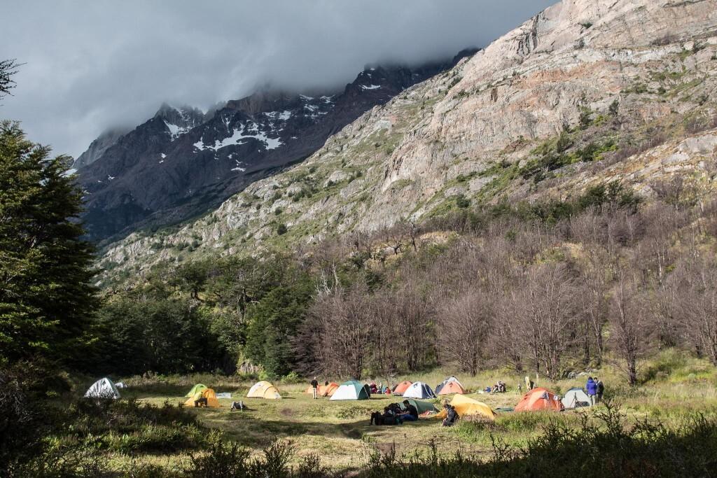 Vista do Acampamento Grey