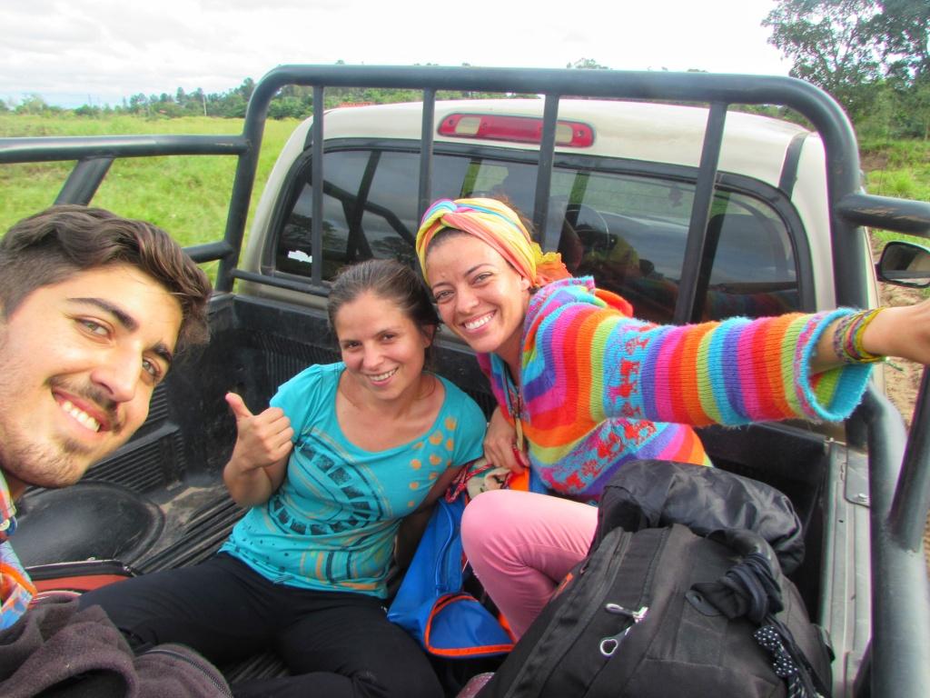 Pegando carona pelas estradas latino americanas
